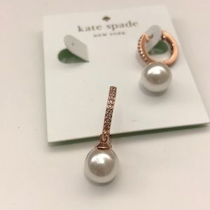 New💕Kate spade pearl drop earring